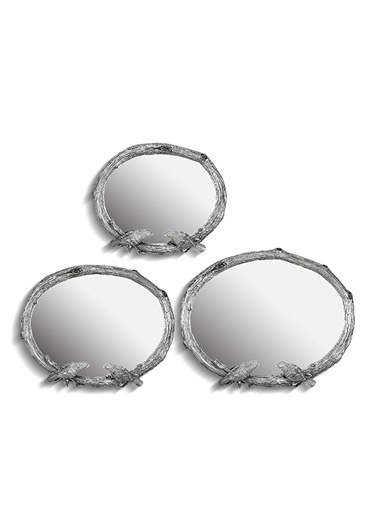 3 Lü Birds Ayna Gümüş,Gmş-Noble Life